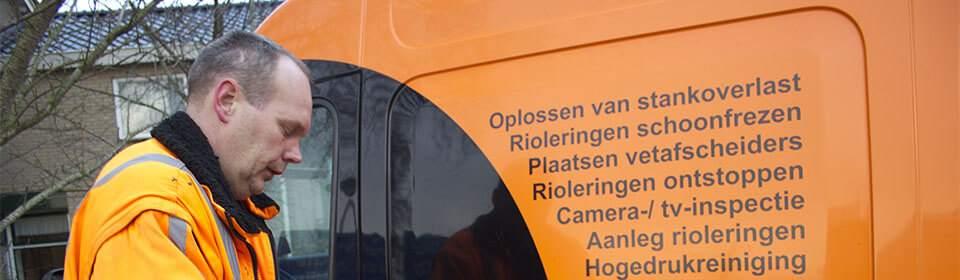 Riool Service Schaap aanleggen en vervangen in Leeuwarden